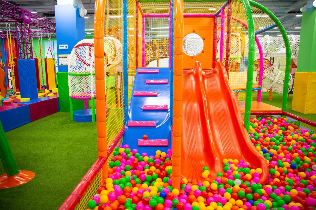 Место развлечений для самых маленьких!