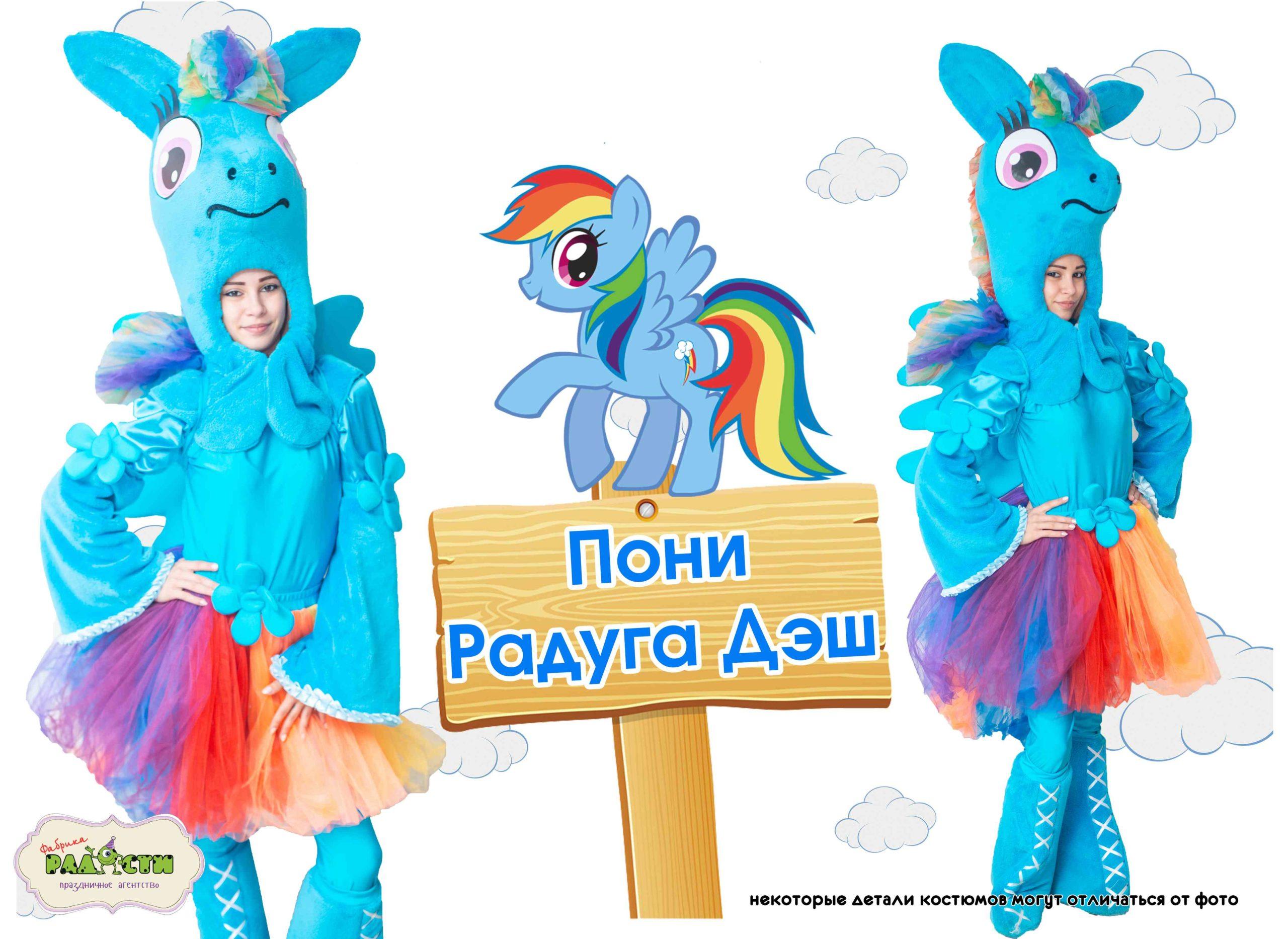 Пони Радуга Дэш